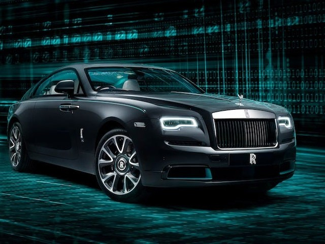 Rolls-Royce etched its newest car with encrypted messages, and it wants buyers to crack the code — tour the 'Kryptos Collection'