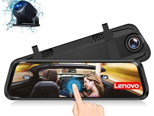 All-in-One Intelligent Rearview Mirrors - The Lenovo Mirror Dash Cam Records from All Angles (TrendHunter.com)