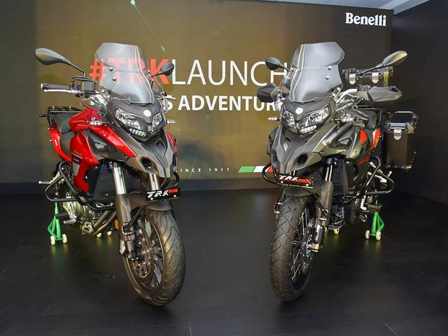Benelli TRK 502, TRK 502X receive 150 bookings