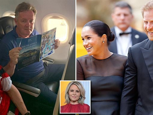 Piers Morgan blasts Today show after they said he was 'jealous' for slamming Prince Harry