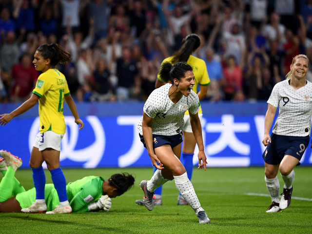 France win against Brazil attracts biggest television audience for FIFA Women's World Cup match