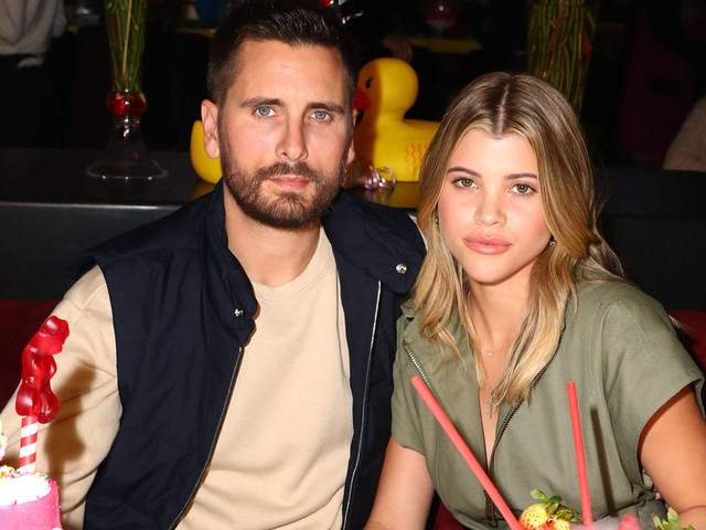 Scott Disick & Sofia Richie Celebrate Valentine's Day in San Diego