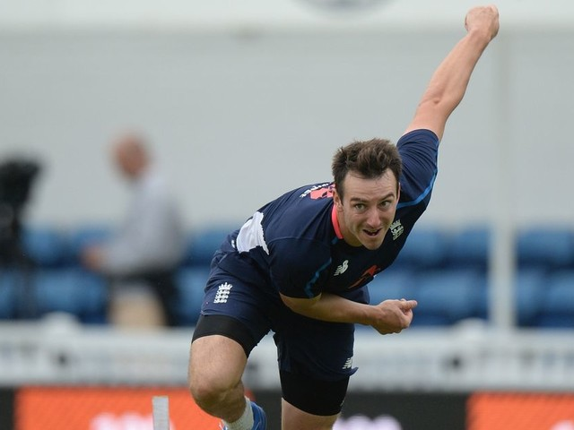 Toby Roland-Jones suffers stress fracture in his back in blow to England's Ashes hopes