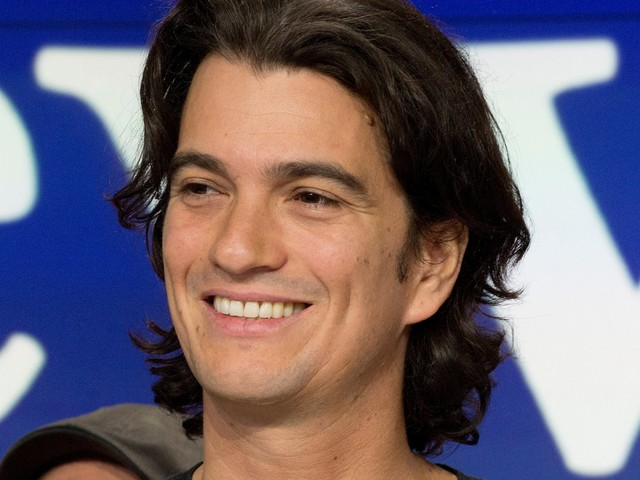 WeWork founder Adam Neumann joked about changing the United States Constitution so he could run for president