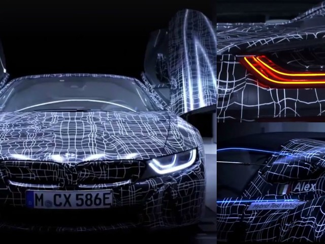 VIDEO: New BMW i8 Roadster Teased Ahead Of 2018 Launch