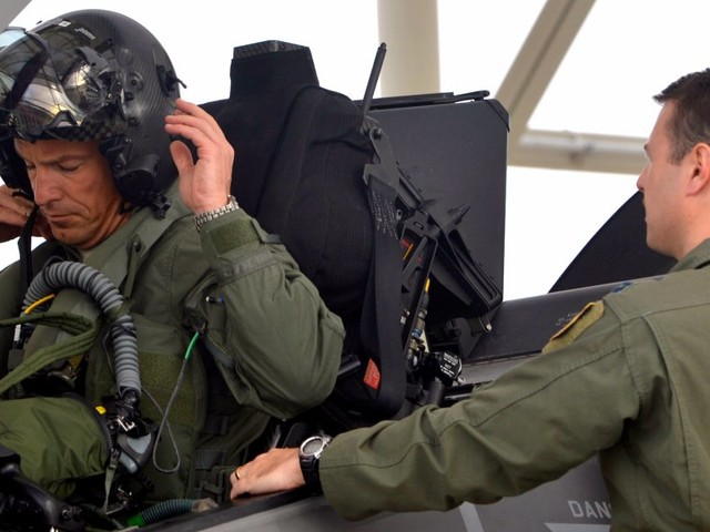 The Air Force is throwing cold water on suggestions it would train enlisted airmen to be pilots
