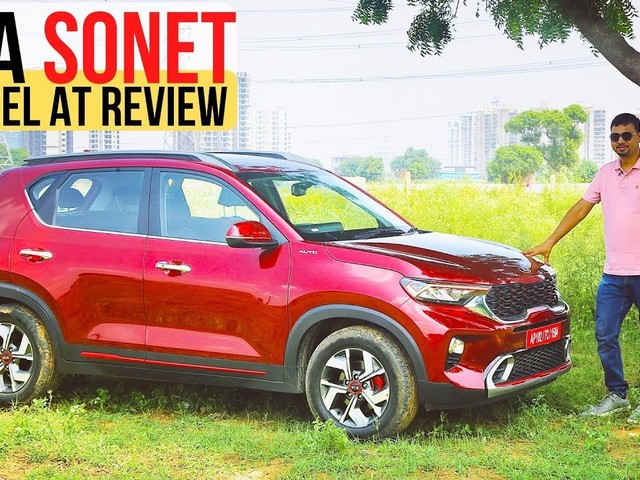 Watch Our Kia Sonet Diesel Automatic Comprehensive Review – Hindi Video