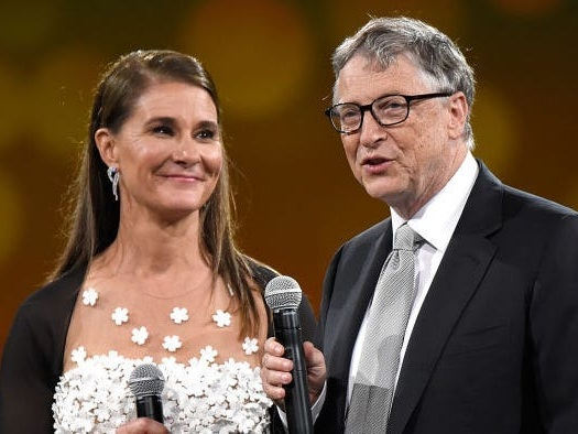 Bill Gates said he and Melinda French Gates would try to keep working together after their divorce
