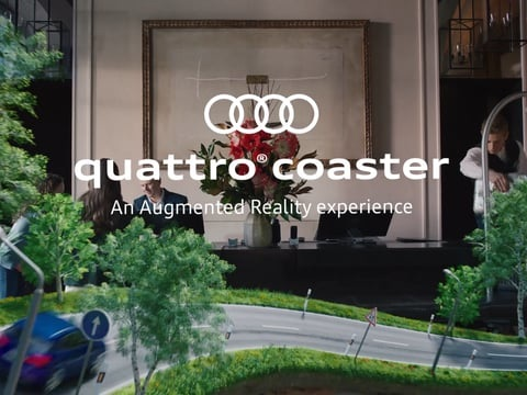 Automotive Roller Coaster Apps - 'Audi Quattro Coaster' Lets Users Design a Roller Coaster Track (TrendHunter.com)