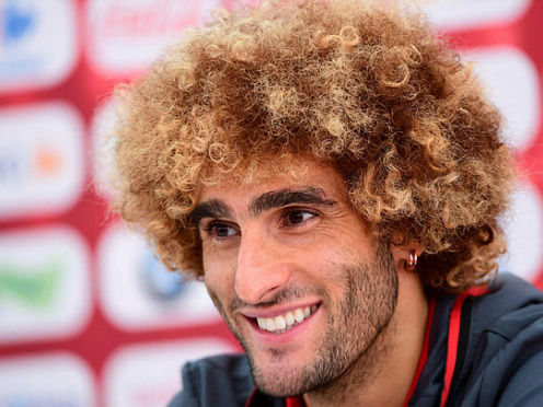 Fix-it Fellaini gets Man United off the mark