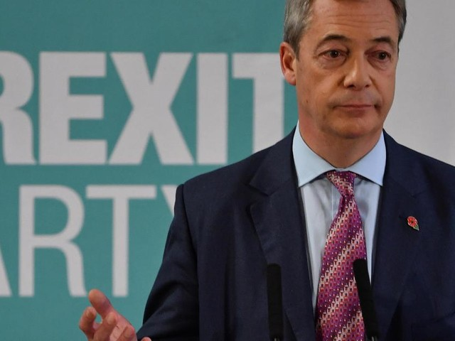 Brexit Party won't contest Tory-held seats at election