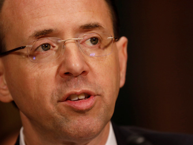 Rod Rosenstein Still Sees No Need For A Special Prosecutor On Russia