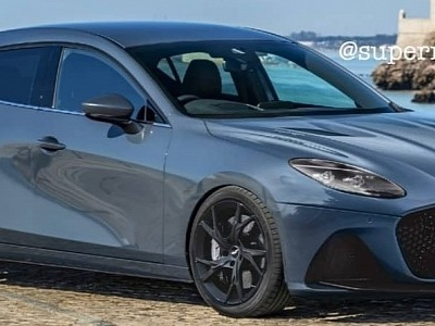 "Mazda3 ""Aston DBS"" Is a Face Swap Worthy of a Focus RS Rival"