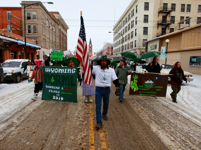 Wyoming advocates hopeful about pot initiatives despite odds