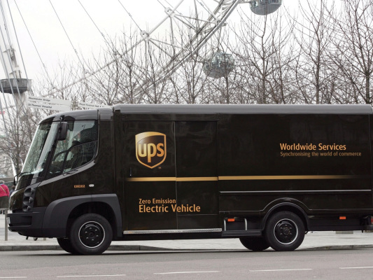 UPS collaborating with Workhorse to deploy 50 electric trucks; rivaling acquisition cost of conventional; no subsidies