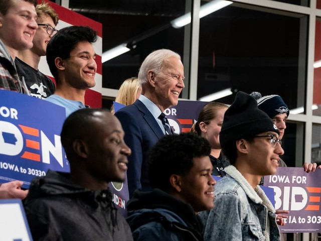 College campuses are closed and students don't know where they'll be on Election Day. That's a problem for the Biden campaign