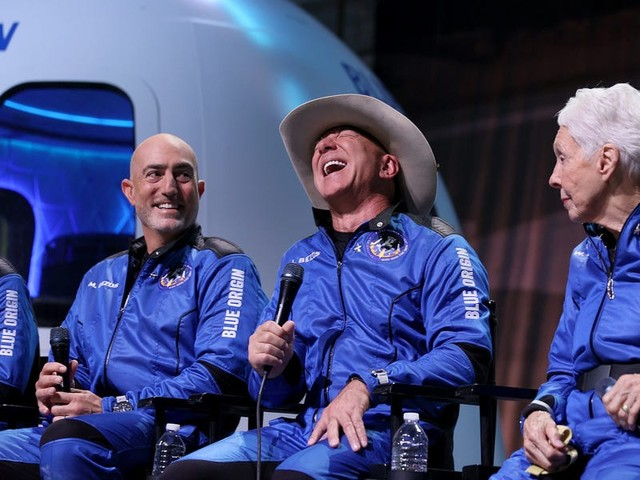 Jeff Bezos thanked Amazon workers for paying for his space flight. For some, the feeling isn't mutual.
