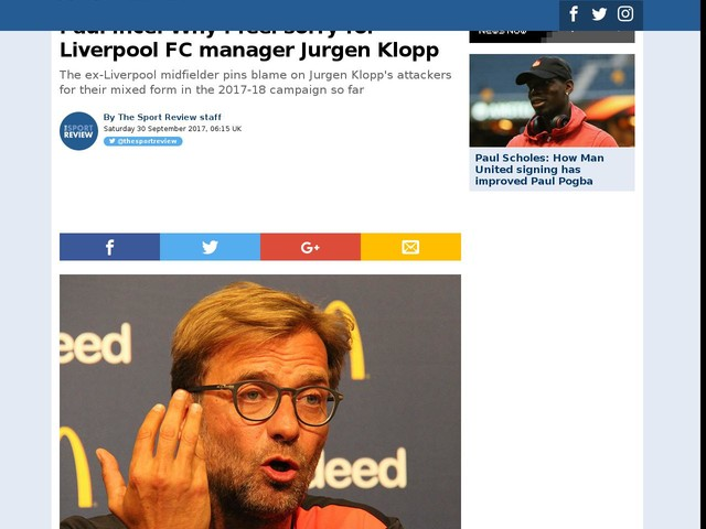 Paul Ince: Why I feel sorry for Liverpool FC manager Jurgen Klopp
