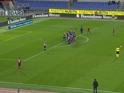 Coppa Italia: Paulo Bartolomei Blasts Home Thumping Long-Range Free Kick As Serie B Citadella Lose To Lazio (Video)