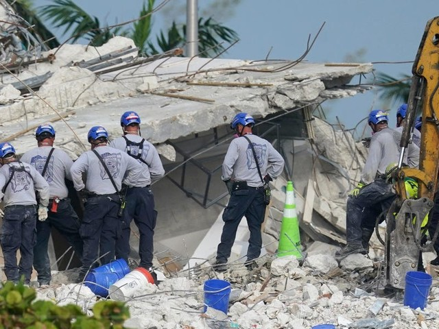 3 more people were found dead at the Surfside condo site as rescuers race against Tropical Storm Elsa heading for Florida
