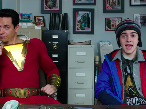 'Shazam!' TV Spot Features New Super-Powered Footage of the DC Comics Film
