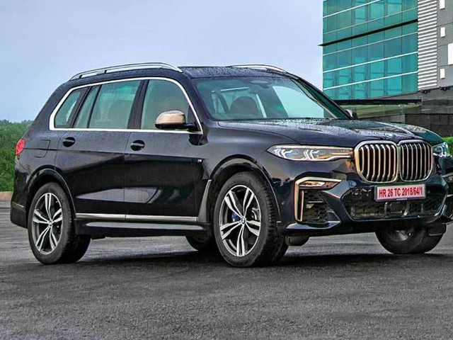 BMW X7 flagship SUV sold out for 2019