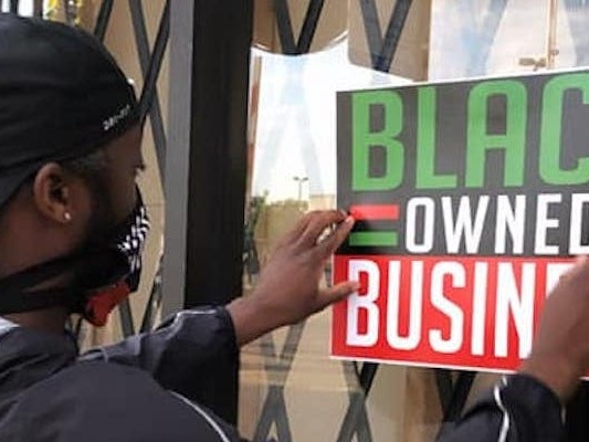 Independent businesses are now caught in the fraught politics of looting, and owners have to weigh protecting their businesses with protecting their reputations. One store owner is even 'looting' his own store to show support.