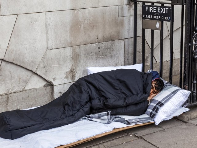 Revealed: Government Fails To Count Hundreds Of Thousands Of Rough Sleepers