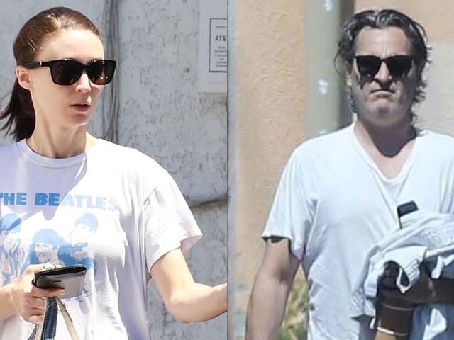 Rooney Mara Dons Beatles Tee While Joaquin Phoenix Heads to Karate