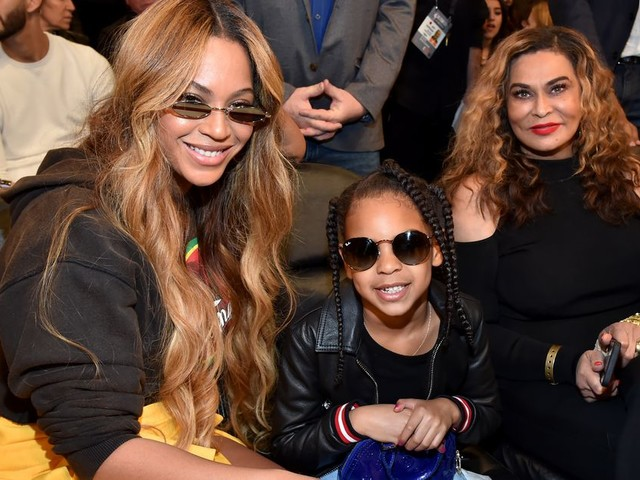 Please enjoy this perfect prank Beyoncé's daughter Blue Ivy pulled on her grandmother