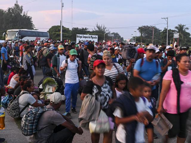 Donald Trump's Rhetoric Towards The Caravan Migrants Is Not Only Dangerous – It's Illegal