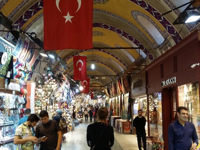 I visited Istanbul's Grand Bazaar, which feels like something straight out of 'Star Wars' — and the lack of selfie-snappers gave me hope for the future of travel
