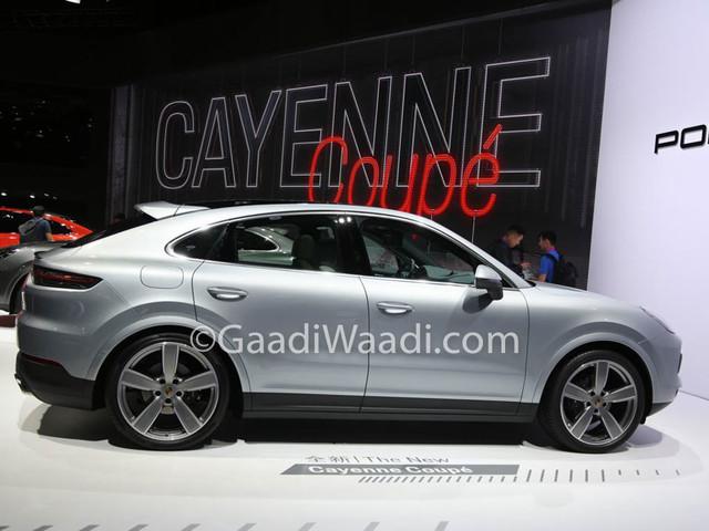 India-Bound Porsche Cayenne Coupe Showcased At Shanghai Motor Show