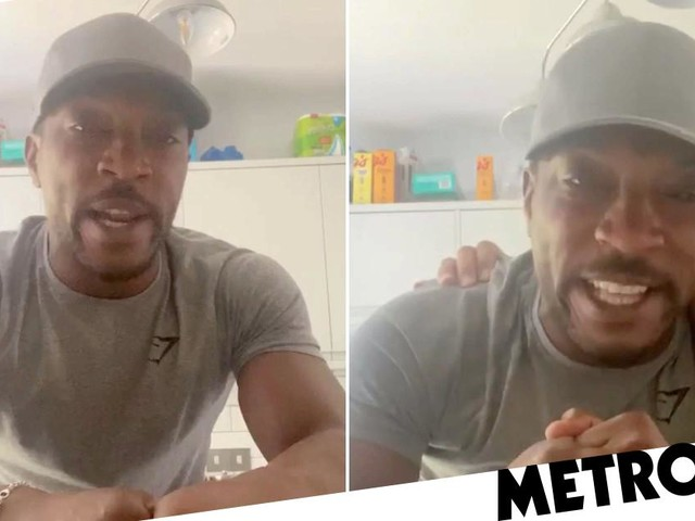 'Don't tell me my silence is a betrayal': Ashley Walters breaks down in tears as he recalls being 'stabbed by white men and left for dead' at 15