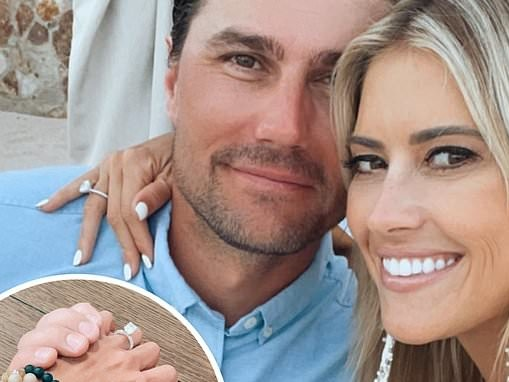 Christina Haack dons 'lover' bracelet inspired by fiancé Josh Hall