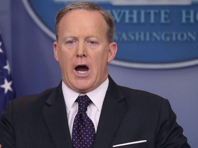 Sean Spicer's bizarre Hitler comment has sparked a massive backlash on Twitter