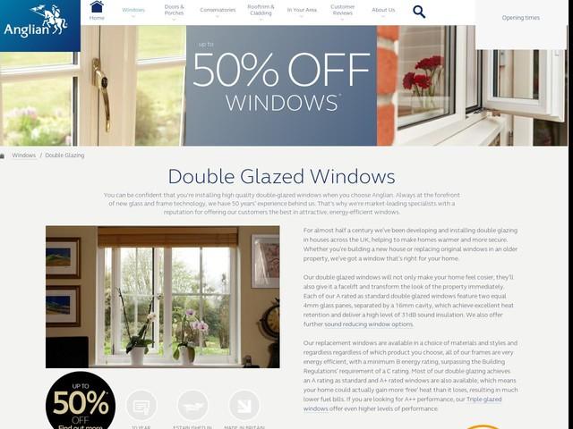 double glazed windows. Black Bedroom Furniture Sets. Home Design Ideas