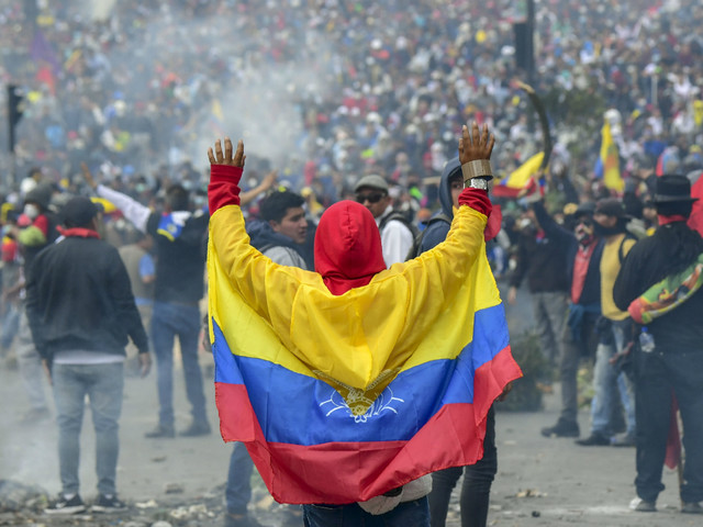 What is happening in Ecuador?