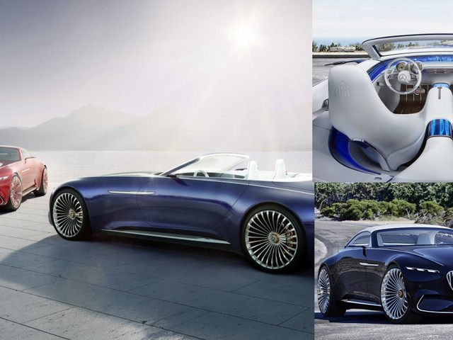 Vision Mercedes-Maybach 6 Cabriolet is Spectacularly Stunning
