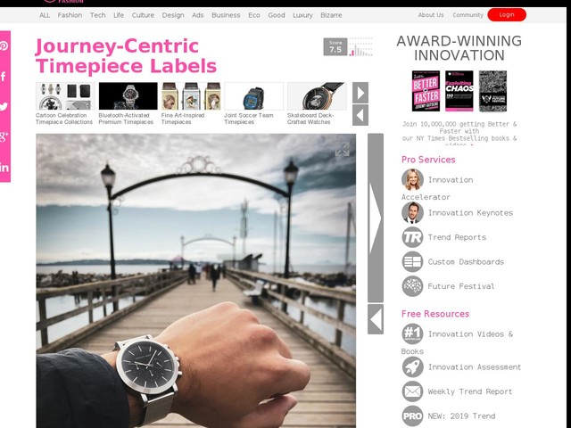 Journey-Centric Timepiece Labels - Hagley West Gives Customers a Deep Dive into Its Industry (TrendHunter.com)