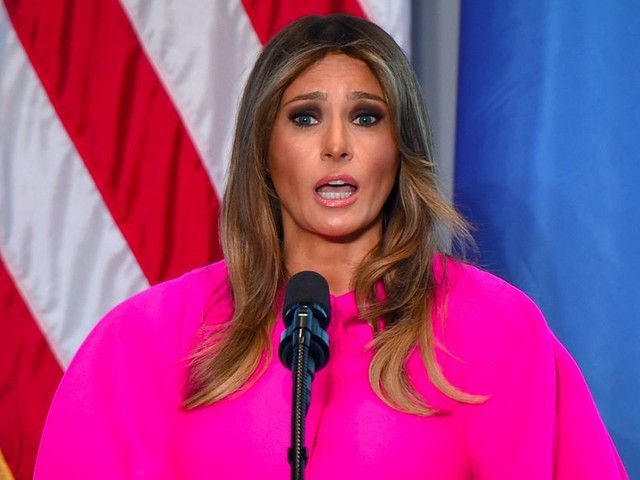 Melania Trump spoke out against bullying and Twitter can't take the irony