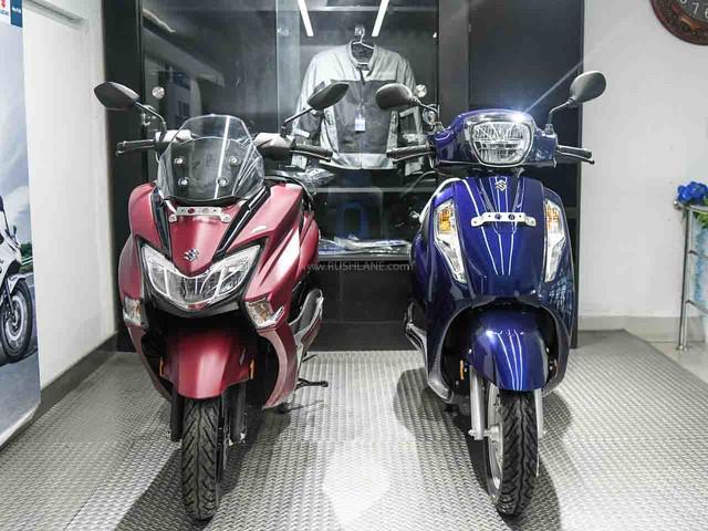 Suzuki Sales, Exports Break Up Sep 2020 – Access, Burgman, Gixxer Top 3
