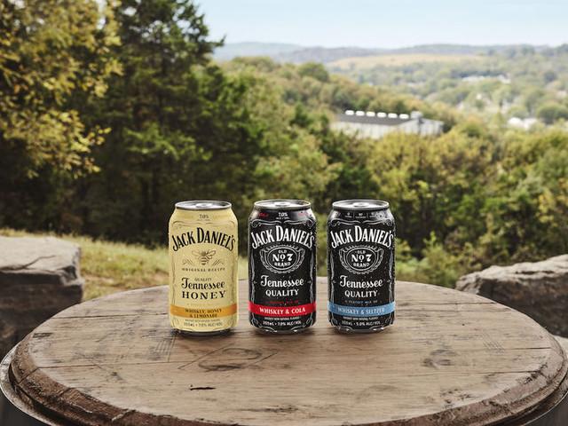 Spirit-Based Canned Cocktails - Jack Daniel's Launched Jack & Seltzer and Jack, Honey & Lemonade (TrendHunter.com)