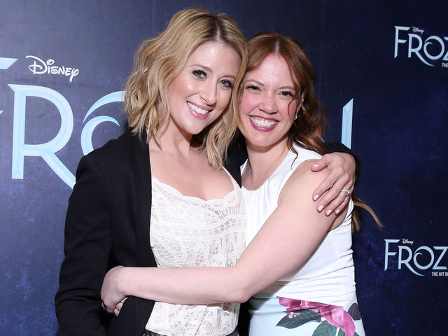Broadway's 'Frozen' Stars Celebrate One-Year Anniversary!