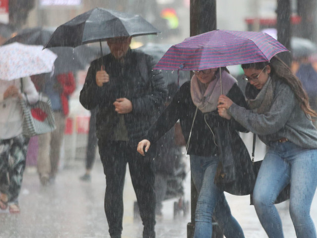 UK Weather: Torrential Rain And Thunderstorms To Cause Travel Disruption