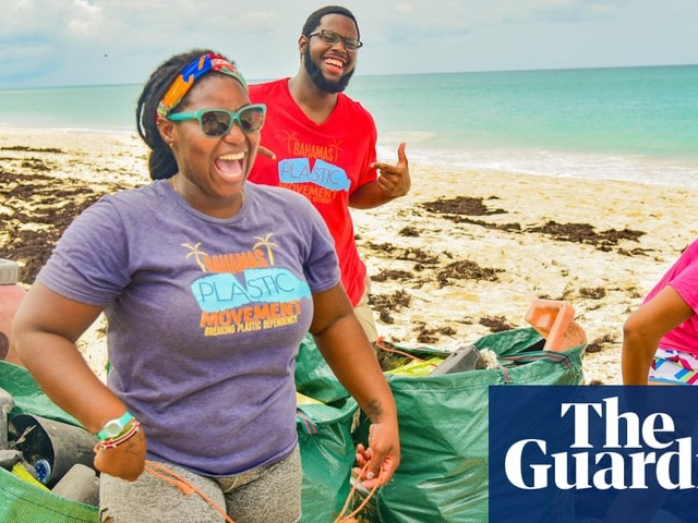 Plastic in paradise: Goldman prize winner's fight to protect Bahamas