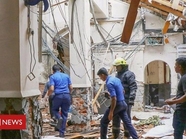 Sri Lanka explosions: Churches and hotels targeted