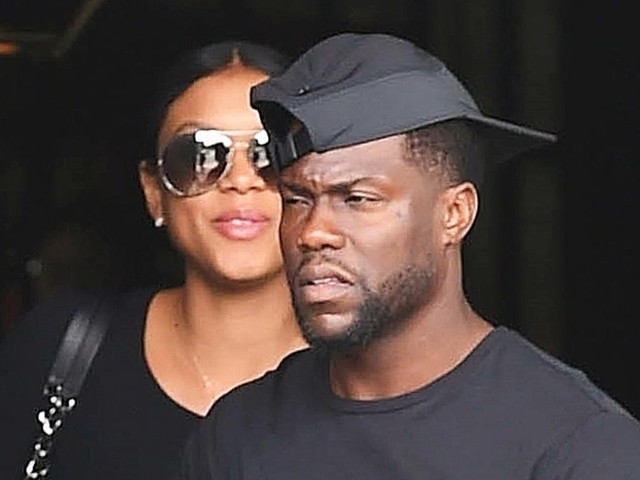 Kevin Hart and Eniko Parrish Step Out For Lunch Date After Extortion Claims