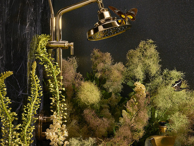 Contemporary Edwardian Faucets - The Invari Bath Collection by Brizo Revisits Edwardian Elegance (TrendHunter.com)
