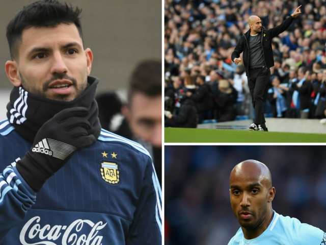 Man City news and transfer rumours LIVE Sergio Aguero and Fabian Delph updates